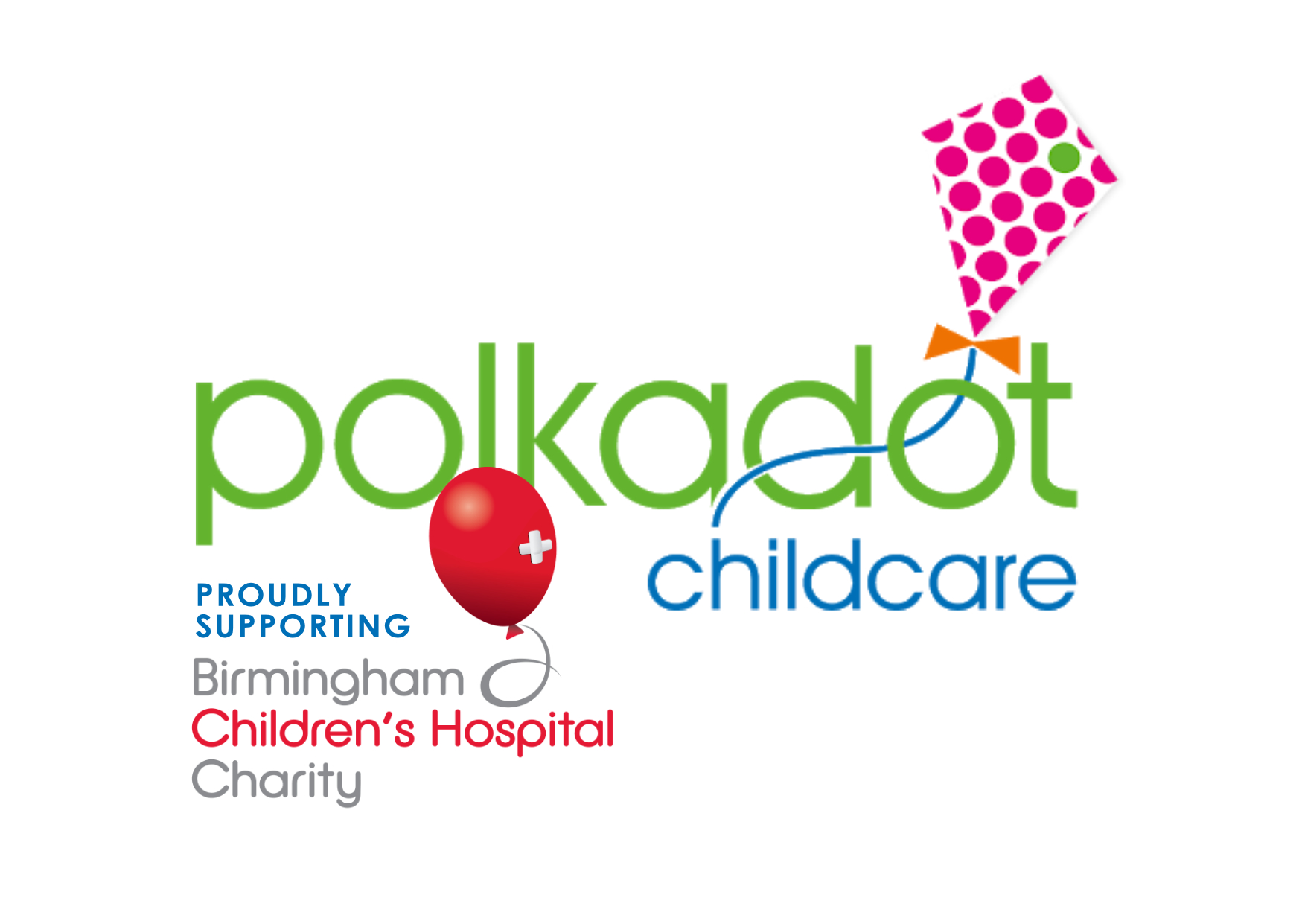 Polkadot Childcare - Proudly Supporting Birmingham Children's Hospital Charity