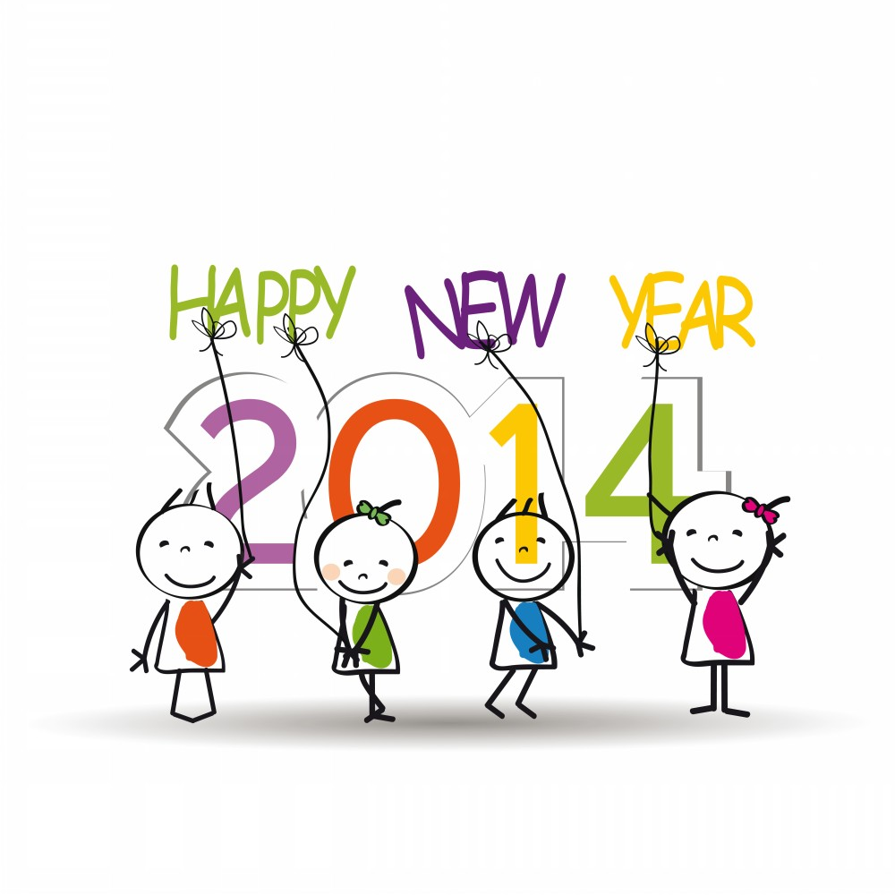 Wishing all our parents and children a very happy new year ...